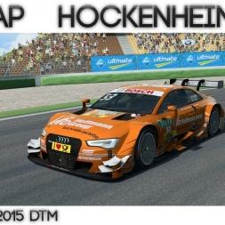 R3E - Hotlap Hockenheim | Audi RS5 DTM  - 1:33.321
