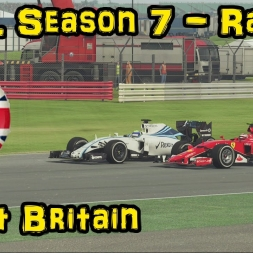 F1XL Season 7 Race Highlights - Round 3: Great Britain