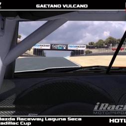 Iracing Cadillac CTS-V -hotlap Laguna Seca 1:23.120