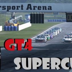 Apex GT4 Supercup Round 1: Oschersleben Sprint race