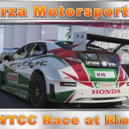 Forza Motorsport 6 WTCC Race at Rio (60fps)