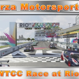 Forza Motorsport 6 WTCC Race at Rio Replay (60fps)