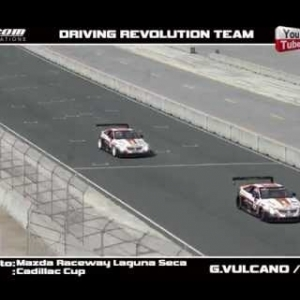 IRACING CADILLAC CUP @ LAGUNA SECA-DRIVING REVOLUTION TEAM-DOUBLE!