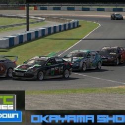 iRacing BSRTC Pro Showdown Race 3 at Okayama