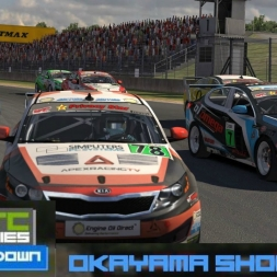 iRacing BSRTC Pro Showdown Race 1 at Okayama