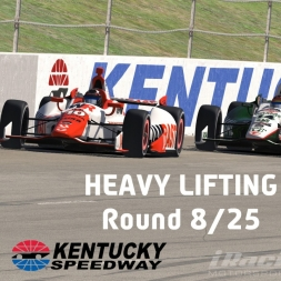 """iRacing: Heavy Lifting"" (Verizon IndyCar Winter Series Round 8: Kentucky Speedway)"