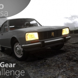 Assetto Corsa Top Gear Challenge #38 - Peugeot 504