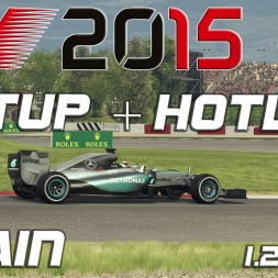 F1 2015 Setup + Hotlap Spain (1.20,848)[PC][60FPS]