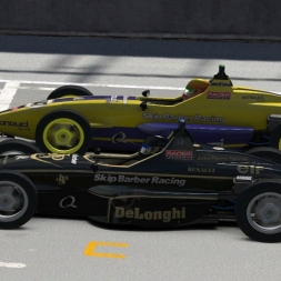 iRacing UK&I Skip Barber series round 7 from Oulton Park