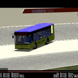 Bus Drifting | Skidpad