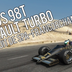 Let's Play | Project CARS | Lotus 98T Renault Turbo