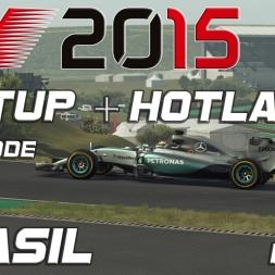 F1 2015 Setup + Hotlap (Q+R Mode) Brasil (1.10,160)[PC]