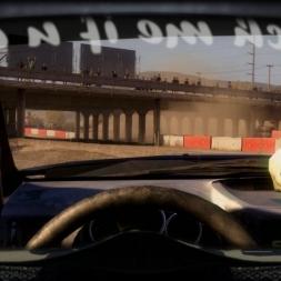 Subaru WRX STI @ Spillway Short (Baja) Helmet Effect - DiRT 2 60FPS