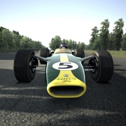 Assetto Corsa Lotus Type 49 @ Monza 1966 | H Shifter + Clutch