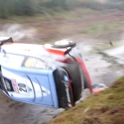 Neuville Crash - WRC Wales Rally GB 2015 - Dyfnant SS11 [Original]
