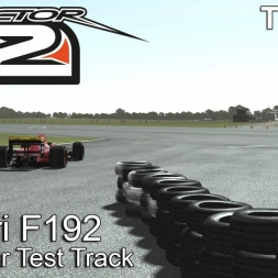 rFactor 2 - Ferrari F192 @ Top Gear Test Track - TV-Cam