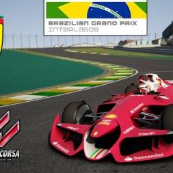 Assetto Corsa * Ferrari F1 Concept test * Interlagos 2015