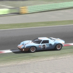 [Assetto Corsa] Ford GT40 @Imola (circuit cams) | 4K 60fps!