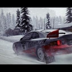 Toyota Celica GT-Four ST205 @ Aasstuevegen (Norway) - DiRT 3 Complete Edition 60FPS (Replay)