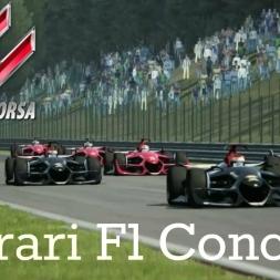 Assetto Corsa Ferrari F1 Concept at Spa Francorchamps
