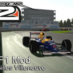 rFactor 2 - 1992 F1 Mod @ Circuit Gilles Villeneuv