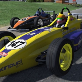 iRacing UK&I Skip Barber series round 8 from Summit Point