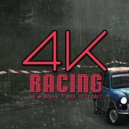 4k @ 60fps | DiRT Rally | Mini Cooper | Wales | tv