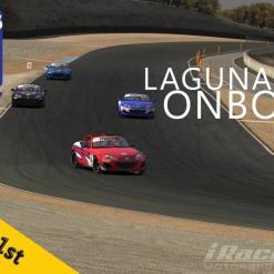 iRacing   #2   Mazda MX-5 Cup   Laguna Seca   Balazs Toldi OnBoard