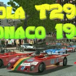 Rfactor 2 Lola T290 at Monaco 1966 Gameplay