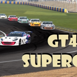 GT4 Supercup #4: Le Bugatti Circuit Feature Race