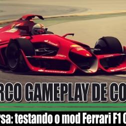[TRC] EP102 - Testando o Ferrari F1 Concept Car - Assetto Corsa
