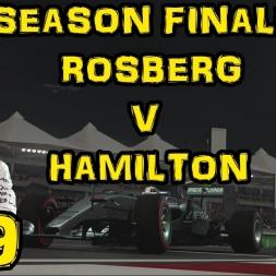 F1 2015 - The Hamilton Challenge - FINALE ROSBERG V HAMILTON