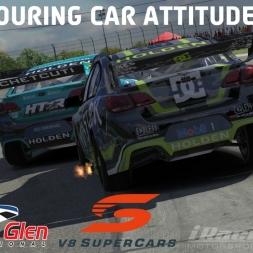 """""""iRacing: Touring Car Attitudes"""" (V8 SuperCars at Watkins Glen Cup)"""