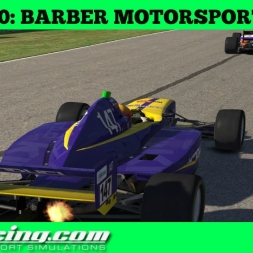 iRacing AOR Pro Mazda Championship S4 Round 10: Barber Motorsports Park