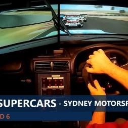 rFactor V8SC 2015 Rnd 6 Sydney Motorsport Park (Highlights)