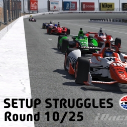 """iRacing: Setup Struggles"" (Verizon IndyCar Winter Series Round 10: Las Vegas Motor Speedway)"