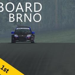 PSRL-VSR Lada Granta Cup 2014   Brno   R2   Balazs Toldi OnBoard