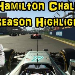 F1 2015 - The Hamilton Challenge - Season Highlights
