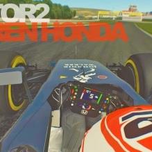rFactor 2 F1 2015 Jenson Button Mclaren Honda Autodrom Most _ Testing