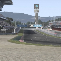 [Assetto Corsa] Ferrari F1 Concept @Circuit de Catalunya GP (circuit cams) | 4K 60fps!