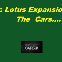 Classic Lotus Expansion pack  the cars