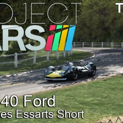 Project Cars - Lotus 40 Ford @ Rouen Les Essarts Short - TV-Cam