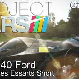 Project Cars - Lotus 40 Ford @ Rouen Les Essarts Short - Onboard
