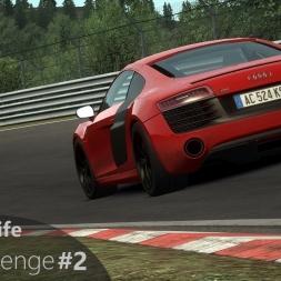 Assetto Corsa #2 Nordschleife Challenge - Audi R8 V10 Plus