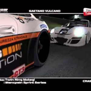 IRACING BLANCPAIN SPRINT SERIES CRASH COMPILATION-MOTEGI