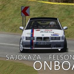 rallyFactor | Official Test Rally | Stage V | Sajókaza - Felsőnyárad | Balazs Toldi OnBoard