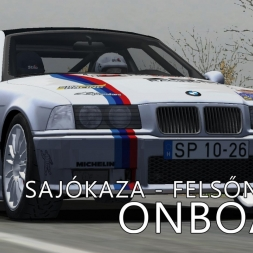 rallyFactor | Official Test Rally | Stage II | Sajókaza - Felsőnyárad | Balazs Toldi OnBoard