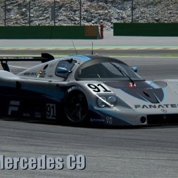 AC • Sauber Mercedes C9 @ Hockenheim ´88