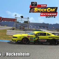 Camaro G5 @ Hockenheim Driver's View - Stock Car Extreme 60FPS