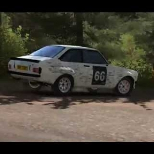 Escort MKII in RD Club Rally